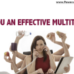 graphic that says are you an effective multitasker?