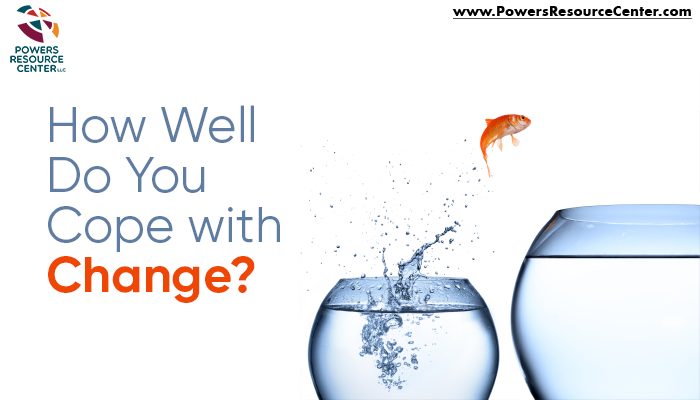 graphic that says how well do you cope with change