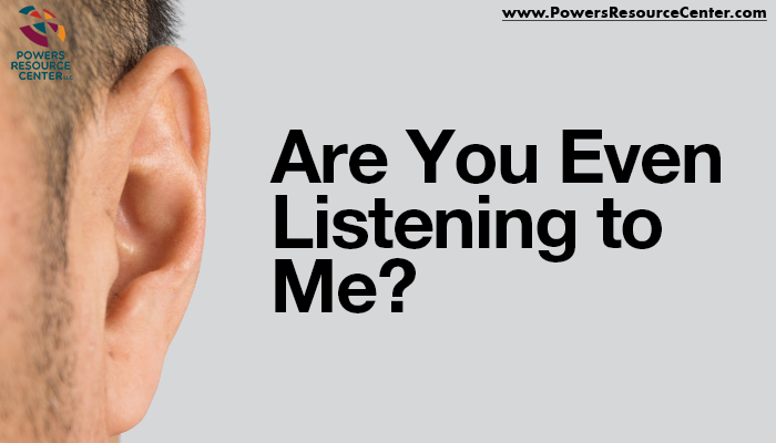 graphic that says are you even listening to me? how to be a better listener
