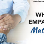 graphic that says why empathy in leadership matters