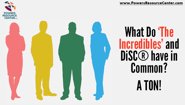 graphic that says what do the incredibles and disc have in common? a ton!