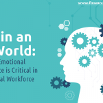 Graphic that says EQ in an AI world: why emotional intelligence is critical in the virtual workforce